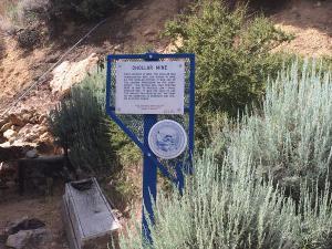 Chollar Mine, Virginia City Nevada: State Marker